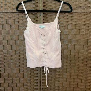 AEO Lace Up Tank Top